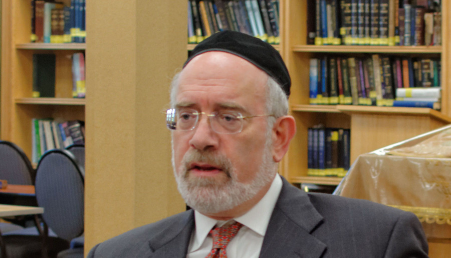 Rabbi Moshe Teitelbaum, mora d'asra of the Young Israel of Lawrence-Cedarhurst