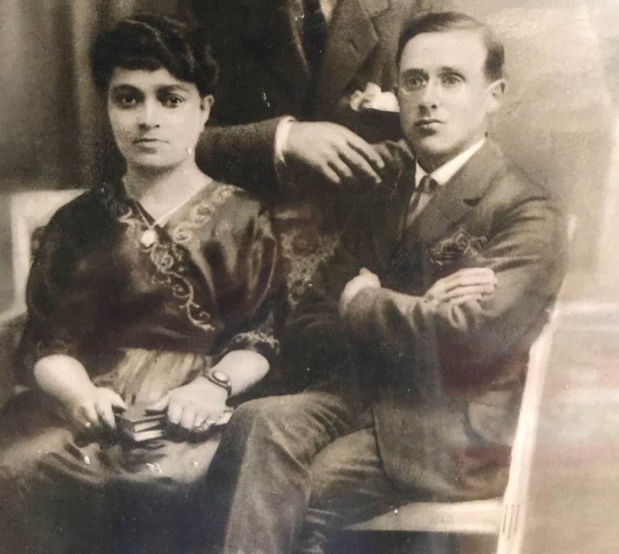 Jack Rybsztajn's parents, Yittele and Yechiel.