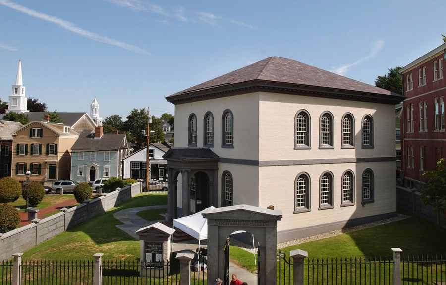 Touro Synagogue, in historic Newport, R.I., is the oldest extant shul in the United States.