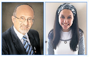 Rabbi Bulka and Rikki (Bulka) Ash