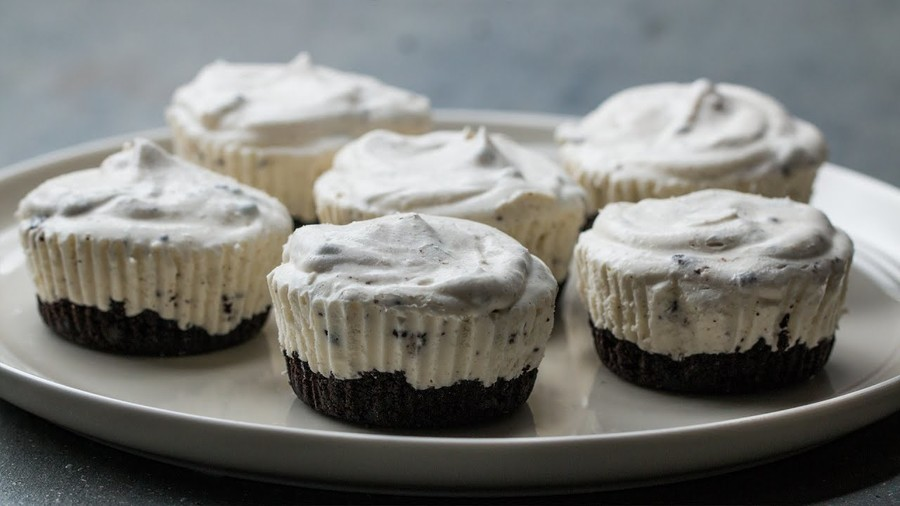 Individual Cookies and Ice Cream Cupcake Pies (Dairy)