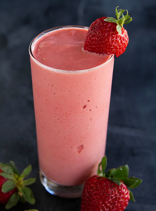 Strawberry Frappe (Dairy)