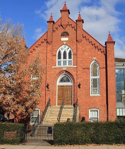Charlottesville's Congregation Beth Israel. As three white supremacists with semi-automatic weapons stood across from the synagogue, congregants recently left through the back door.