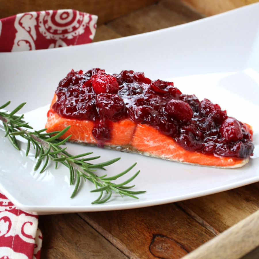 Cranberry Glaze for Chicken or Salmon