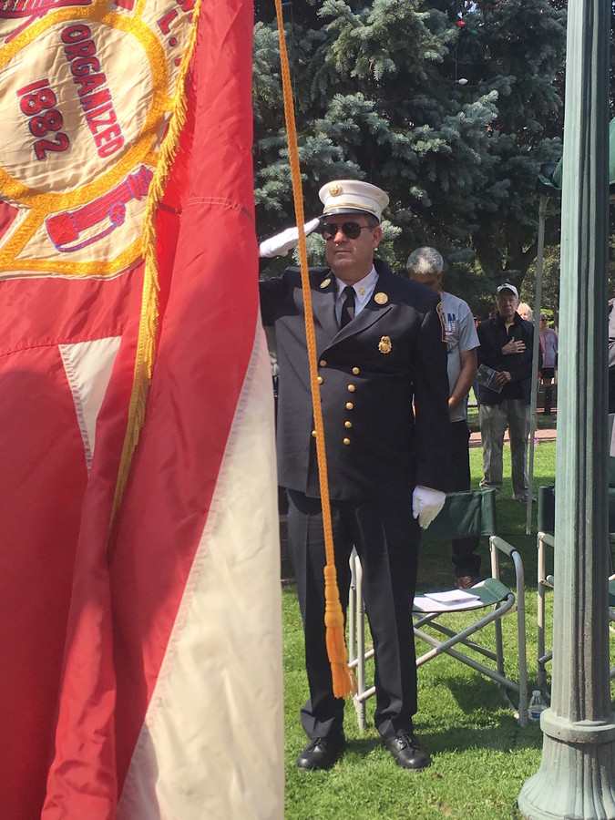 Lawrence-Cedarhurst Fire Chief David Campbell
