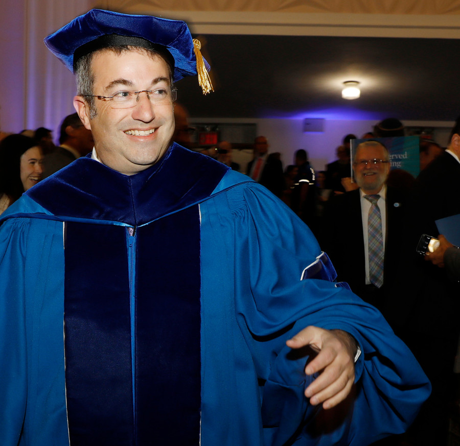 Investiture of Rabbi Dr. Ari Berman, fifth president of Yeshiva University.