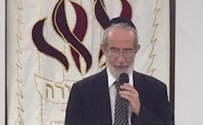 Rabbi Herschel Reichman, rosh yeshiva of Yeshiva University.