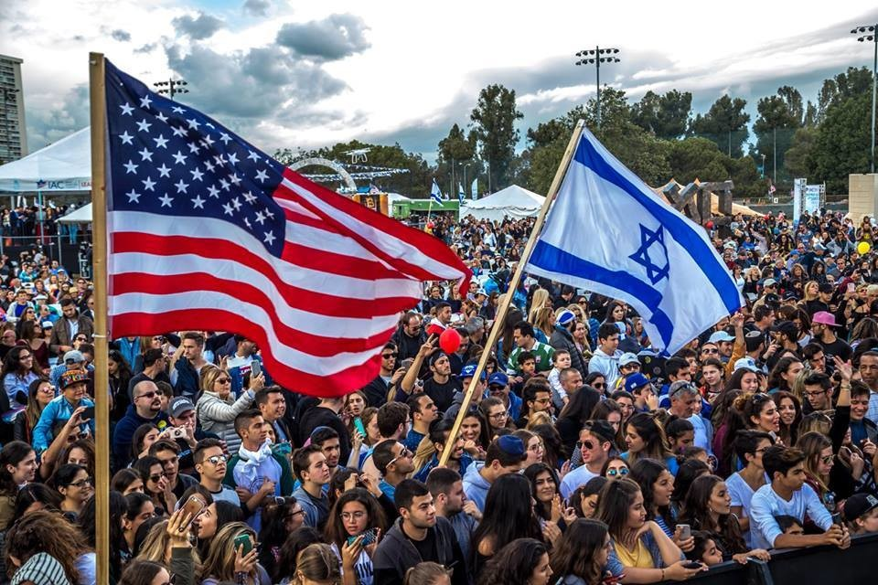 "Israeli-American Council's ""Celebrate Israel"" festival in Los Angeles earlier this year."