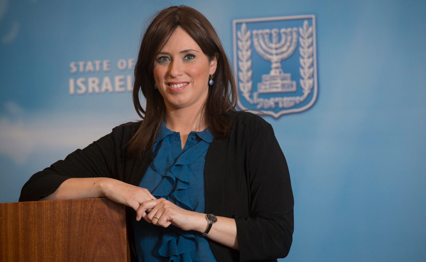Deputy Foreign Minister Tzipi Hotovely at Israel's Foreign Ministry in Jerusalem.