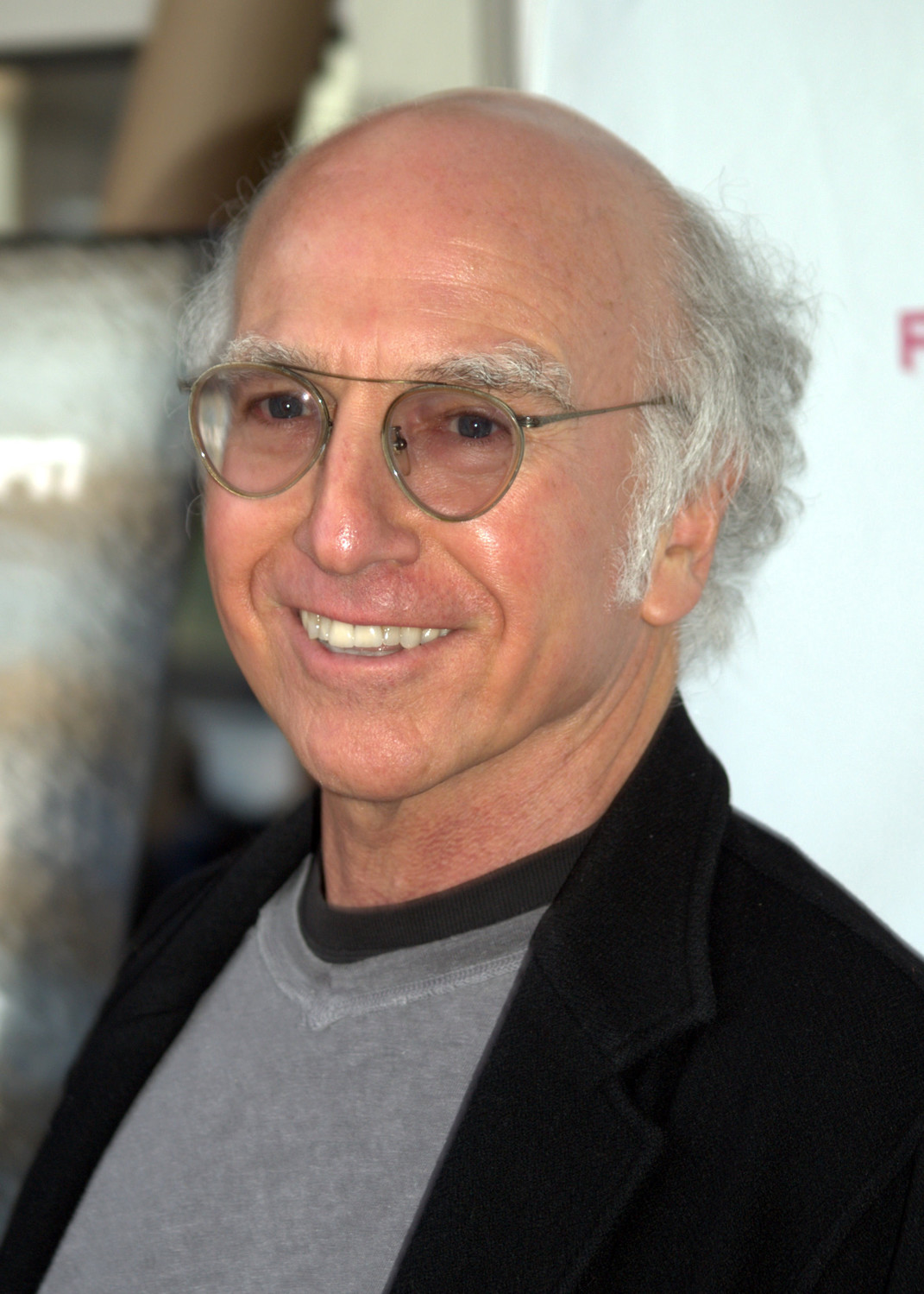 Larry David, who did Shoah comedy on SNL, at the Tribecca Film Festimval in 2009.