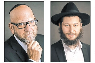 Dr. David Nesenoff (left) and Rabbi Adam Nesenoff.