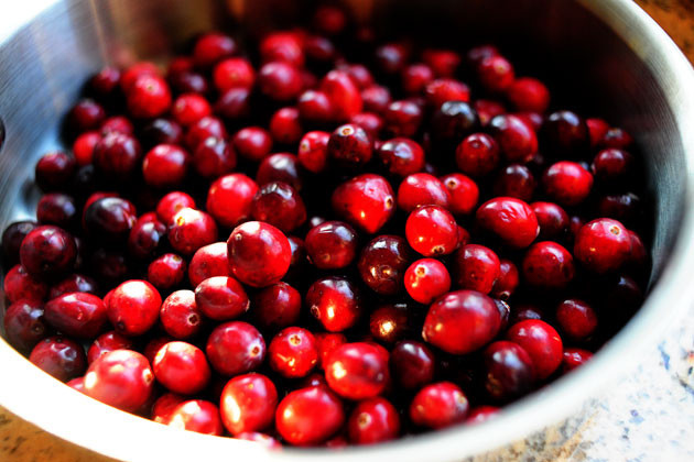 Simple, Pomegranate Cranberry Sauce (Pareve)