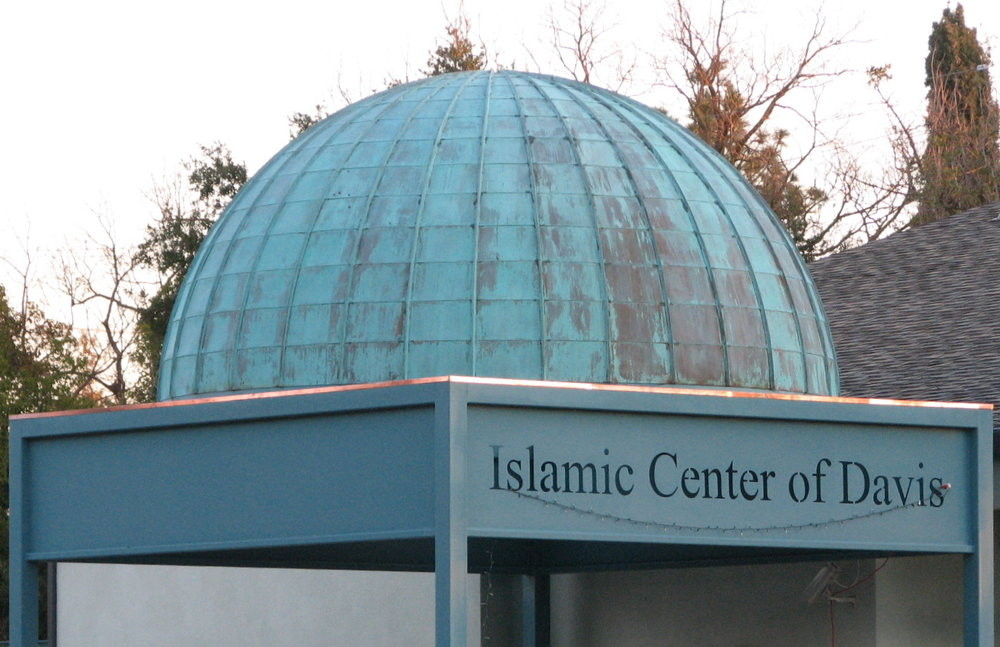 "The leader of the California-based Islamic Center of Davis (pictured) said in July, ""Oh Allah, liberate the Al-Aqsa mosque from the filth of the Jews ... count them one by one and annihilate them down to the very last one."""