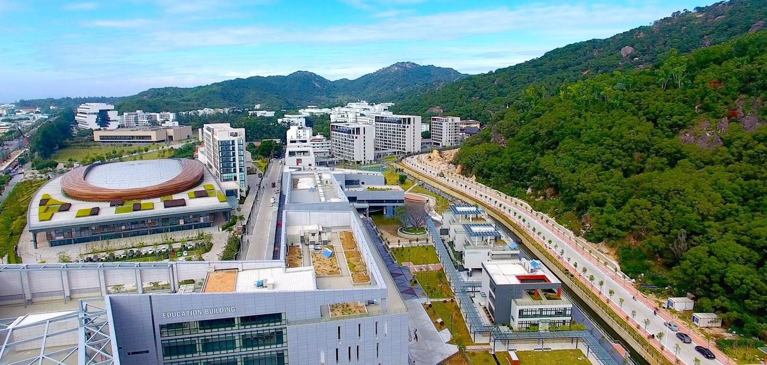 The campus of the Guangdong Technion Israel Institute of Technology.