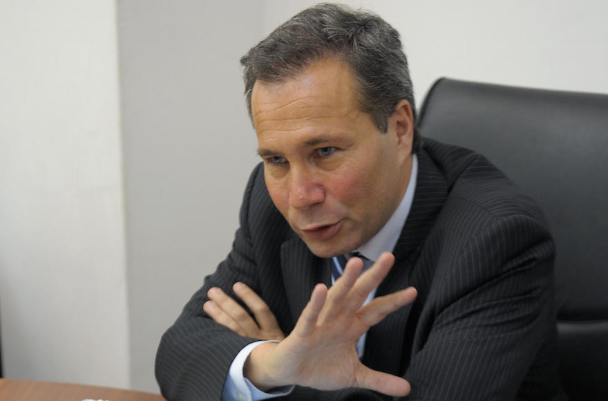 Alberto Nisman at a news conference in Buenos Aires on May 20, 2009.