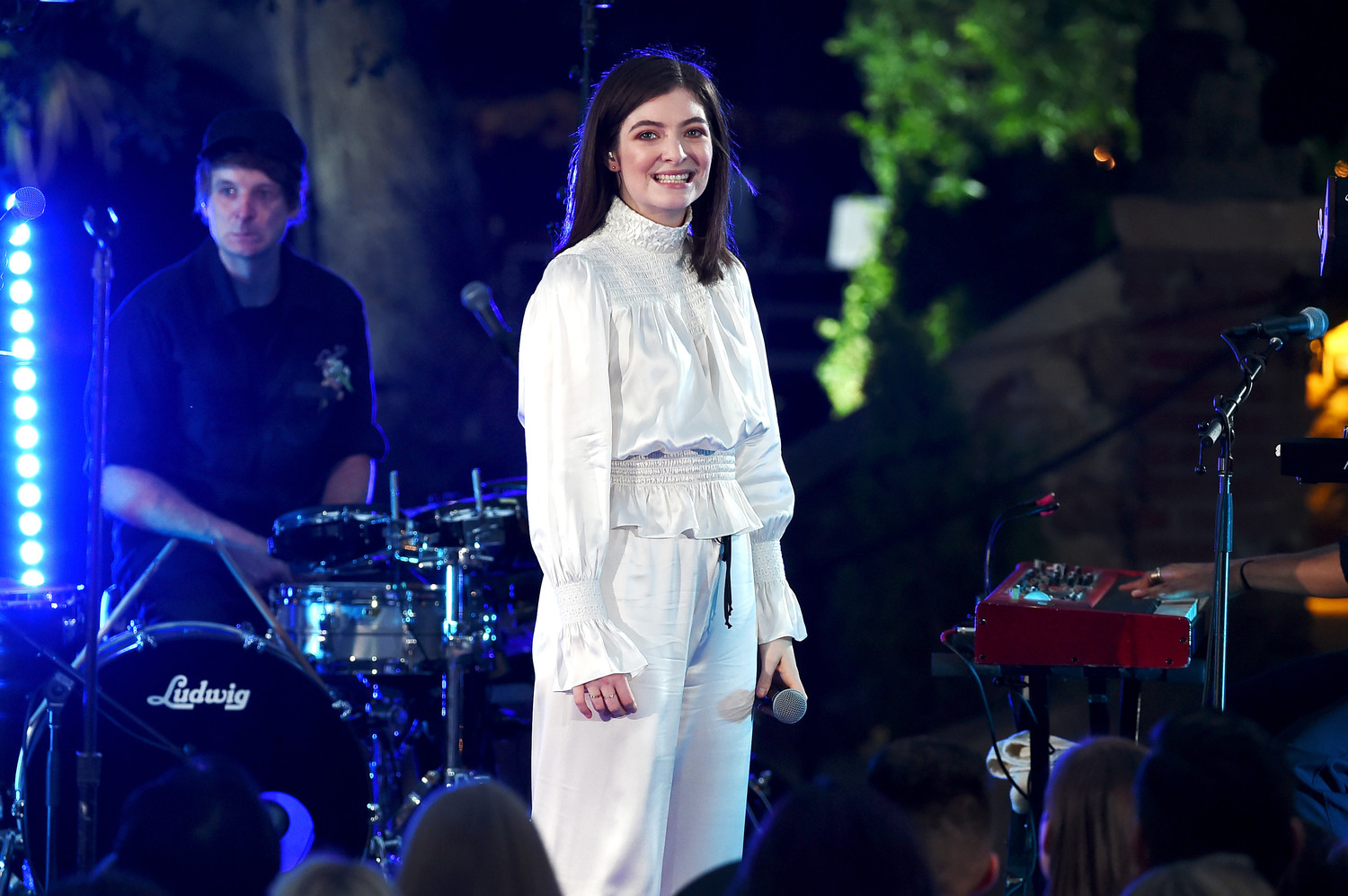 Lorde, pop singer from New Zealand, performs during the iHeartRadio Secret Sessions by AT&T at the Houdini Estate on Aug. 29, 2017, in Los Angeles.