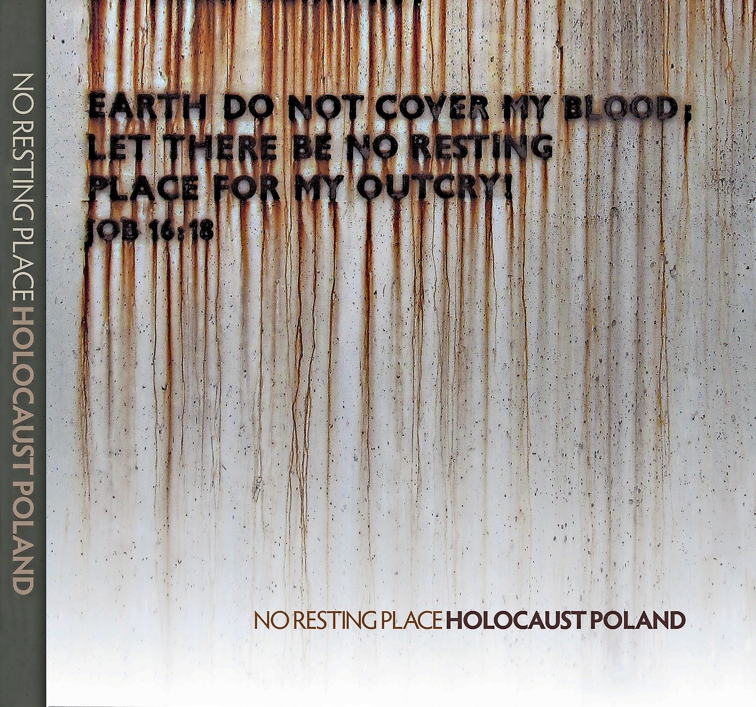"Cover of ""Holocaust Poland: No Resting Place"""