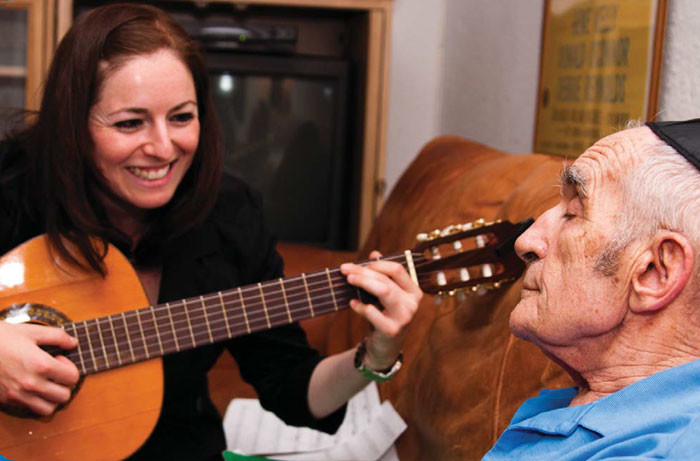 MJHS Hospice is unlocking memories through music therapy.