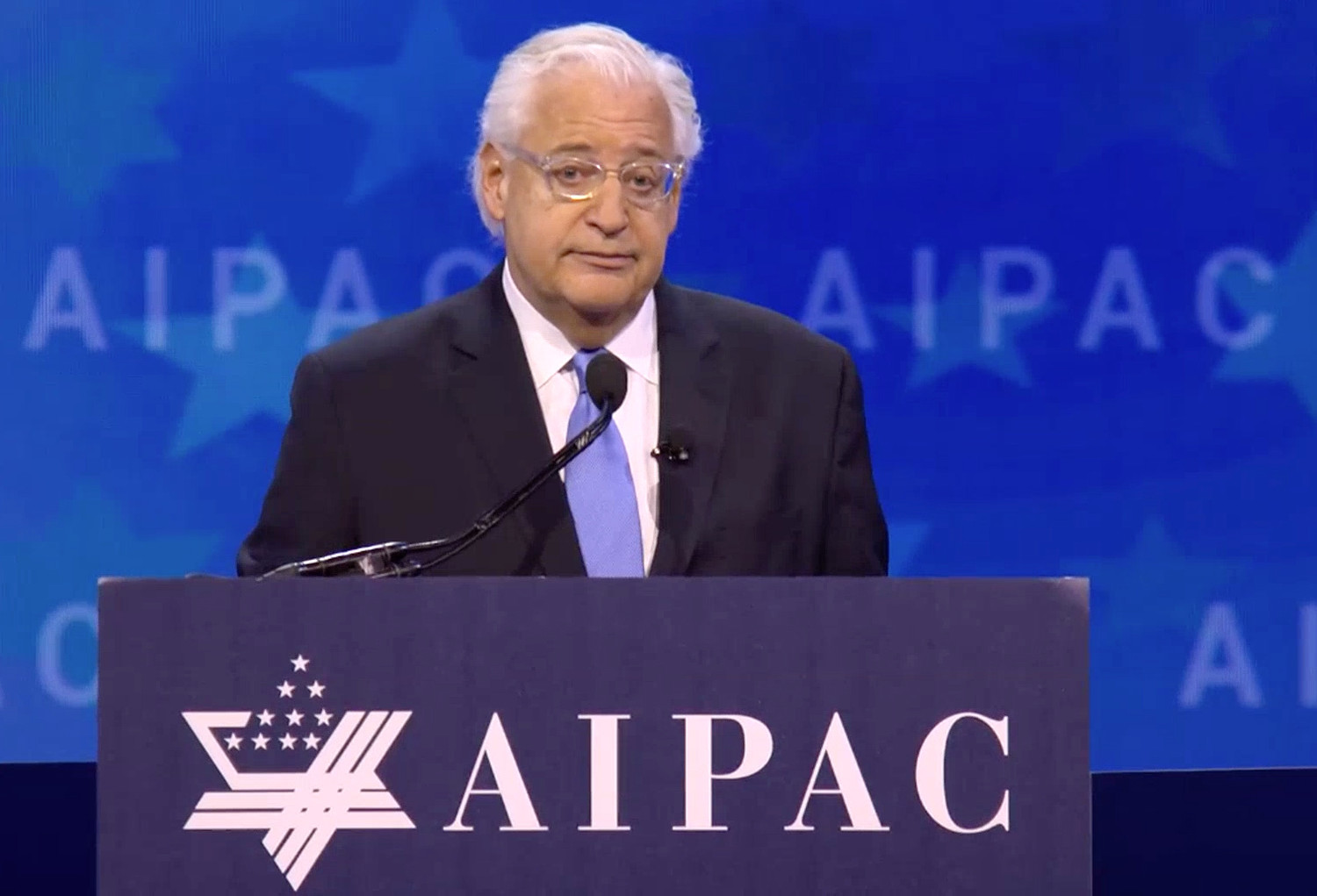 Ambassador David Friedman at AIPAC earlier this month.