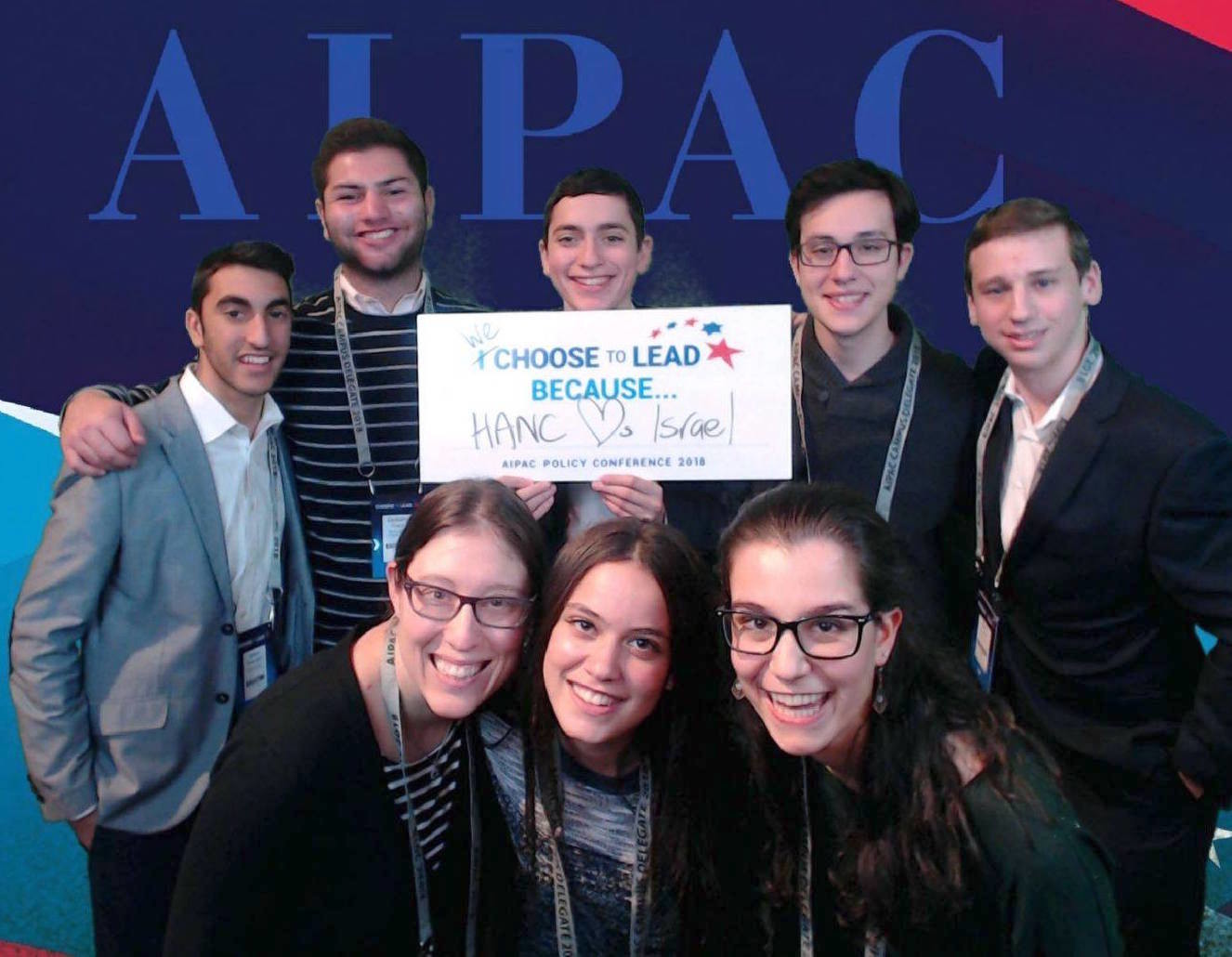 Students from HANC HS participated at the AIPAC Policy Conference and lobbied on Capitol Hill on Tuesday.