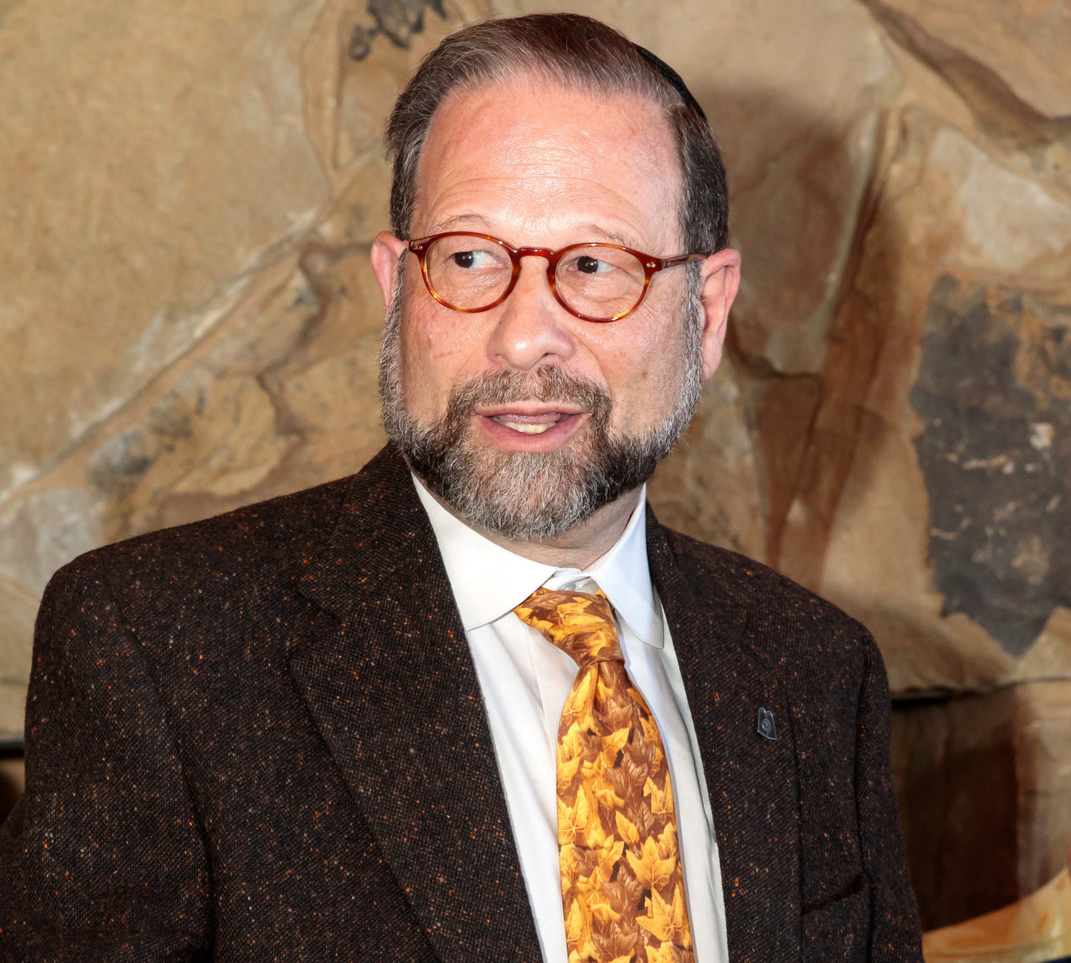 Leon Goldenberg, member of the Agudah board of trustees.