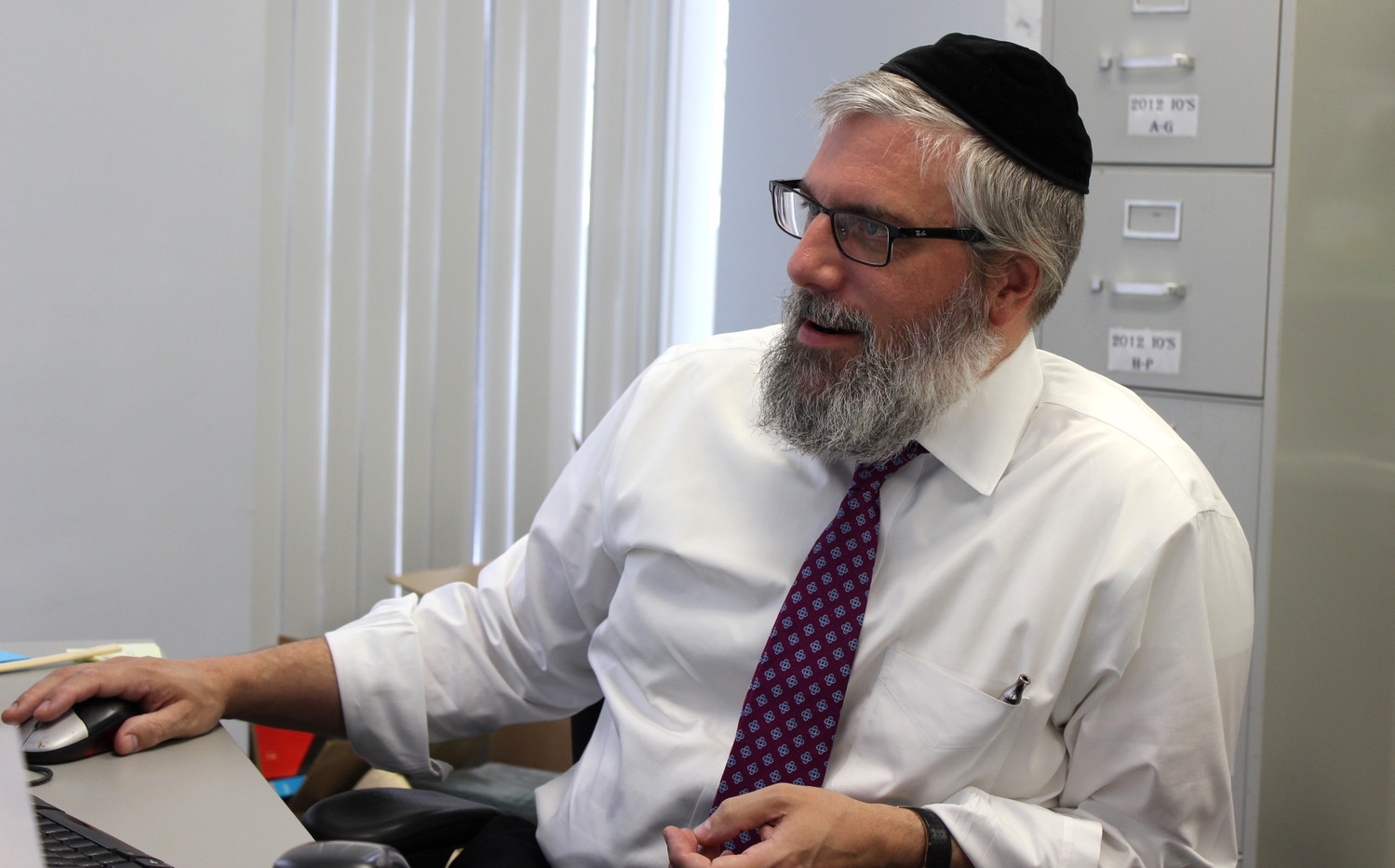 Amud Aish Memorial Museum Director Rabbi Sholom Friedmann is a child of a Shoah survivor.