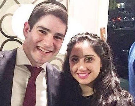 "Remembered: Yisroel Levin and Elisheva Kaplan a""h."