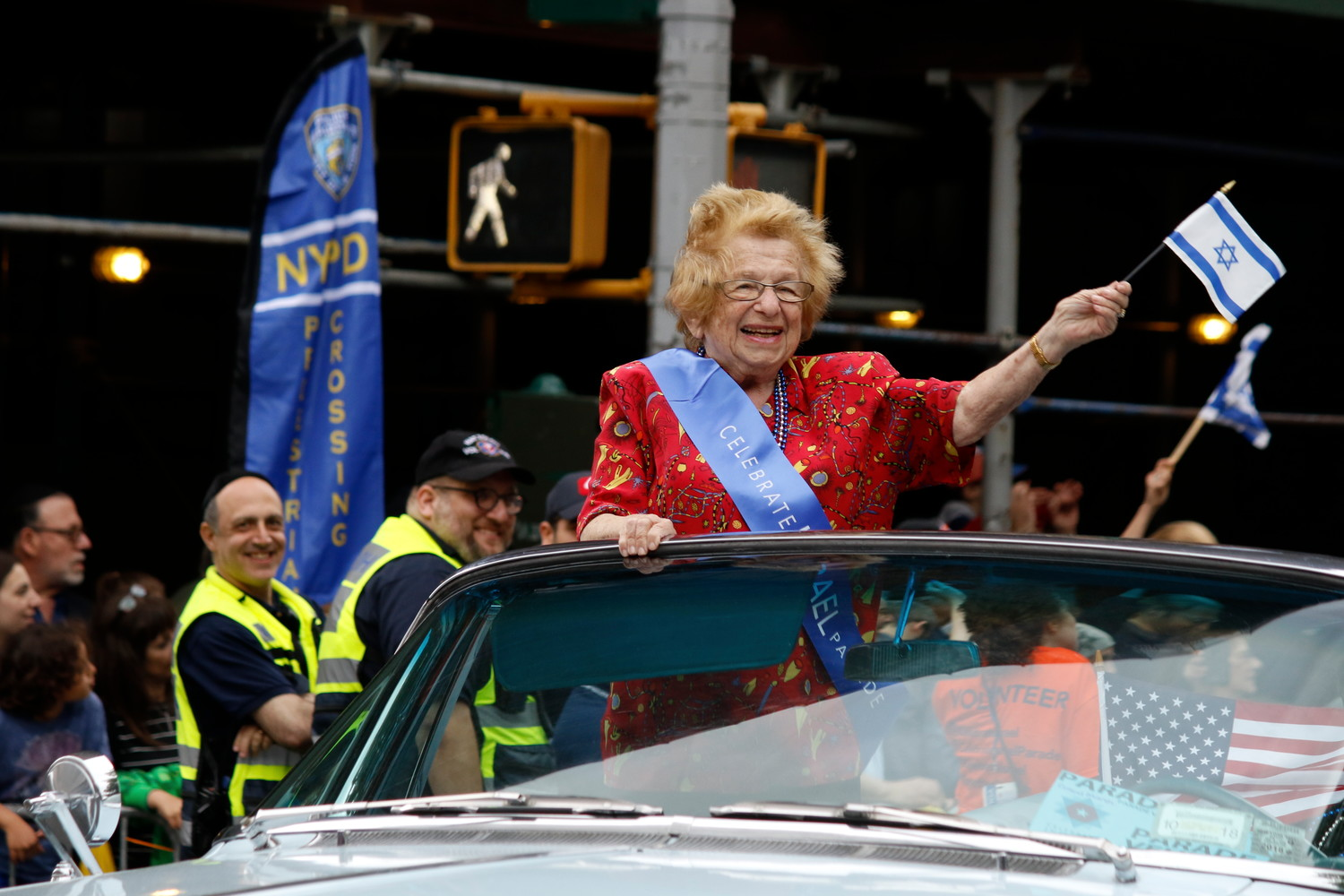 90-year-old Dr. Ruth Westheimer was a crowd favorite.