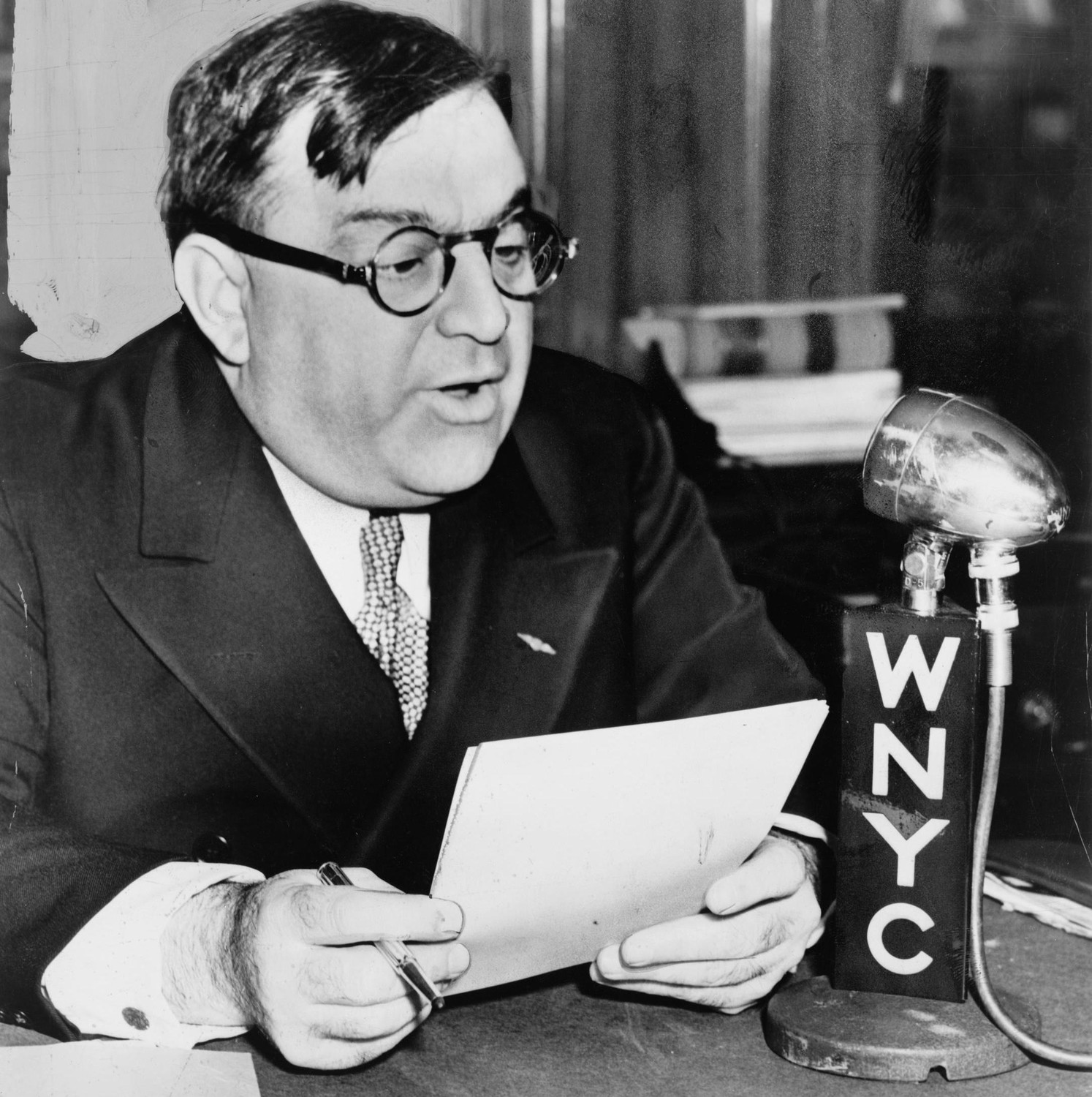Fiorello La Guardia in 1940.
