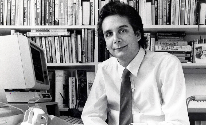 Charles Krauthammer in March 1985.