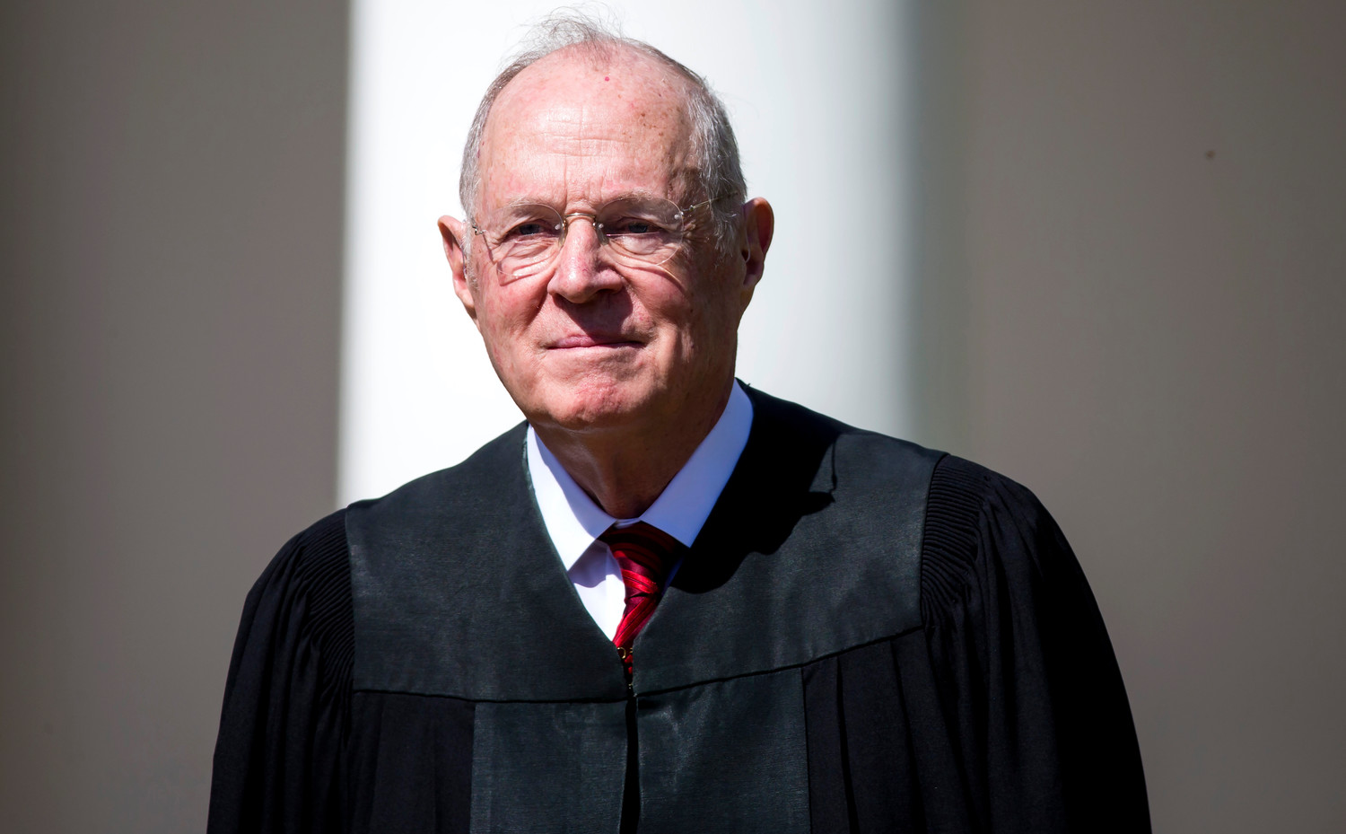 Supreme Court Associate Justice Anthony Kennedy at the White House April 10, 2017.