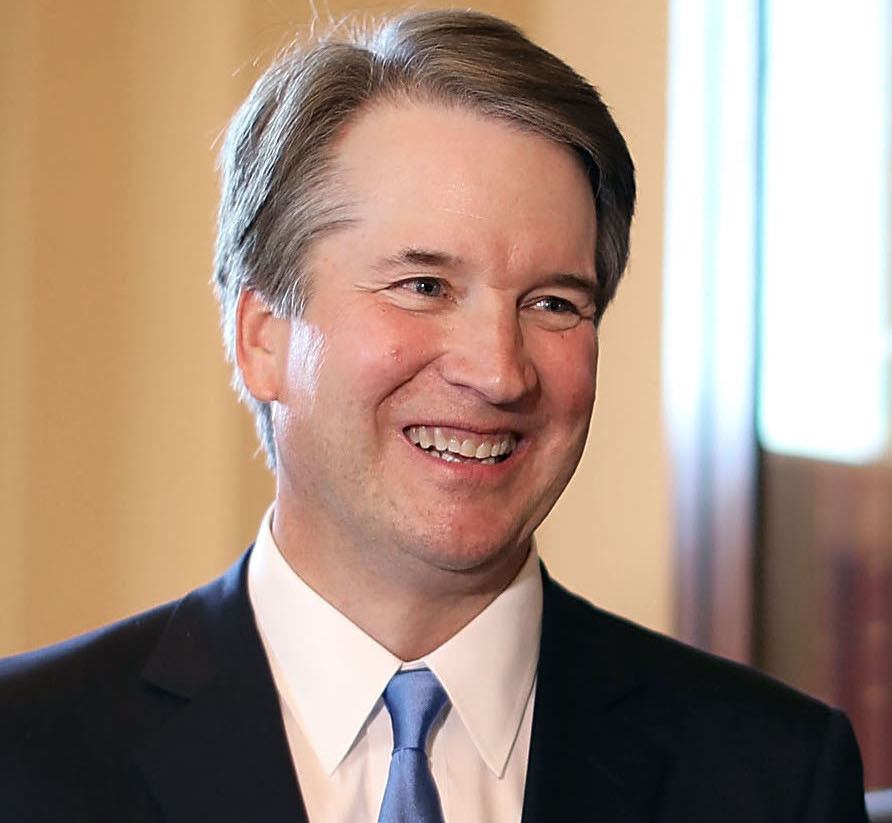 Judge Brett Kavanaugh at the Capitol on July 10, the day after President Trump said he would nominate him to the Supreme Court.