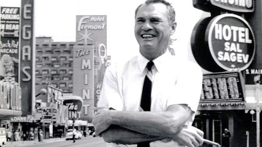 "Herman (""Hank"") Greenspun in Las Vegas."