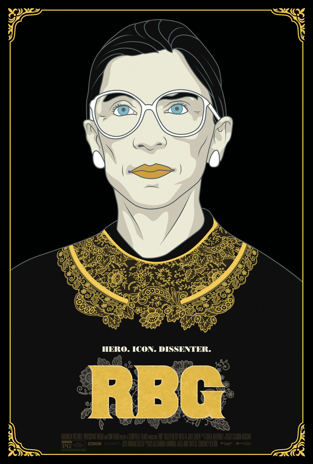 """RBG"" the movie poster."
