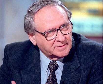 From left: William Safire.