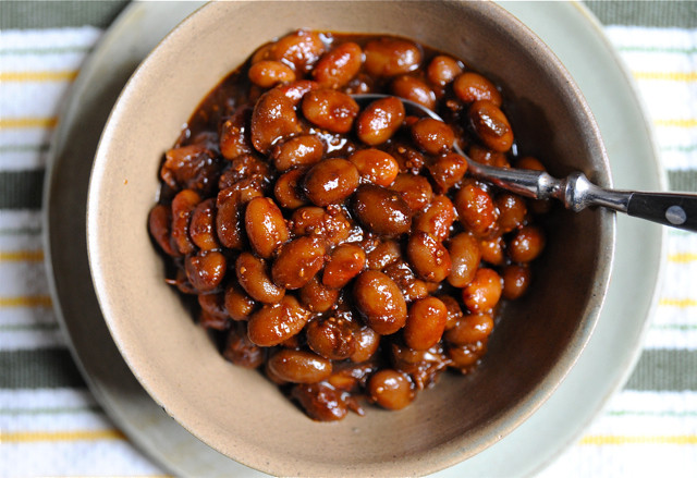 Quick and simple baked beans