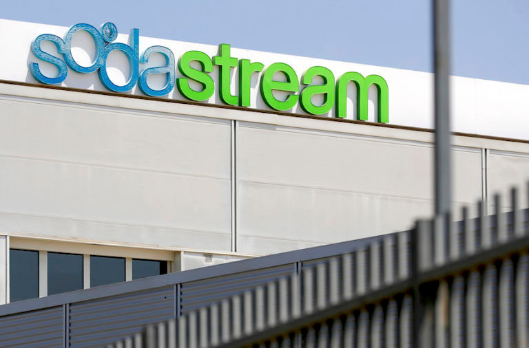 SodaStream's corporate offices in Lod, southeast of Tel Aviv.