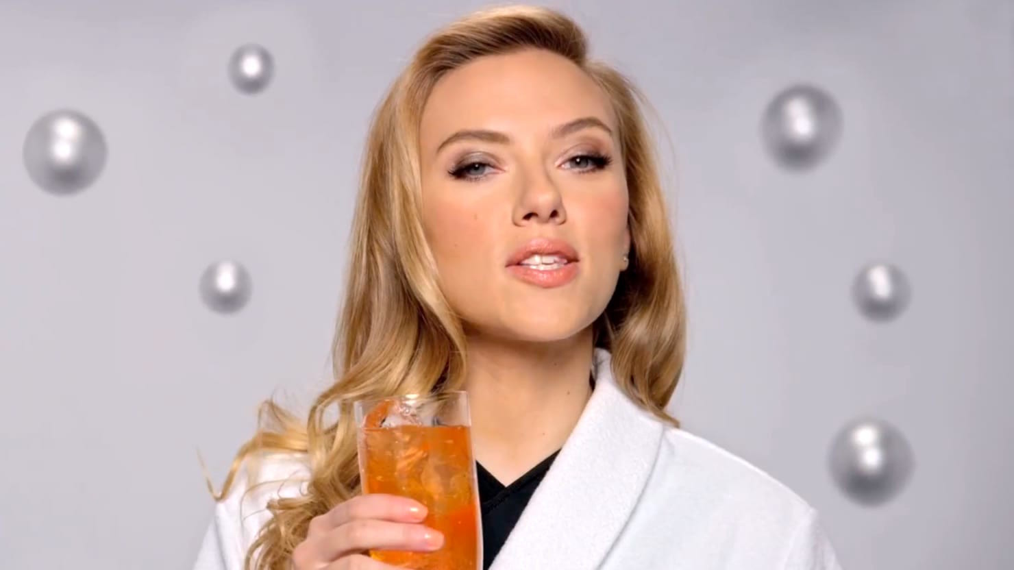 Actress Scarlett Johansson was a face of SodaStream.