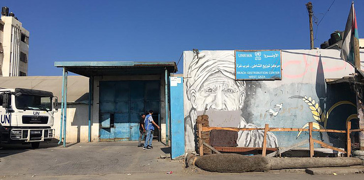 The UNRWA is facing a funding crises in Gaza.