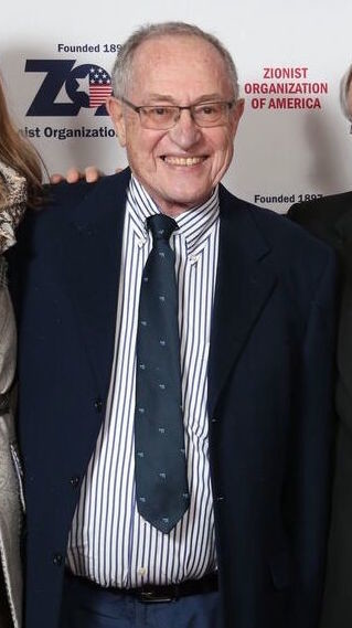 Professor Alan Dershowitz, at the Nov. 4 ZOA gala.