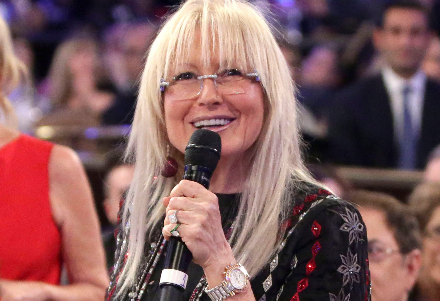 Miriam Adelson at an FIDF gala in Beverly Hills in 2014.
