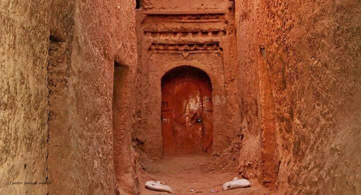 The 'mellah' in Tinghir, Morocco.