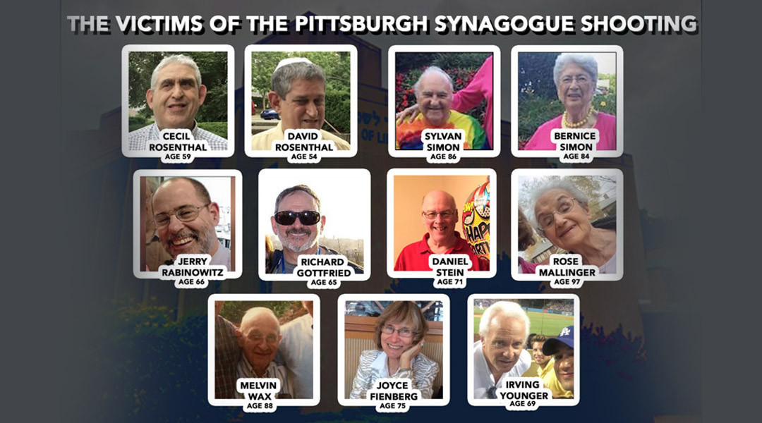 11 worshippers were killed in the Tree of Life synagogue shooting, on Oct. 27.