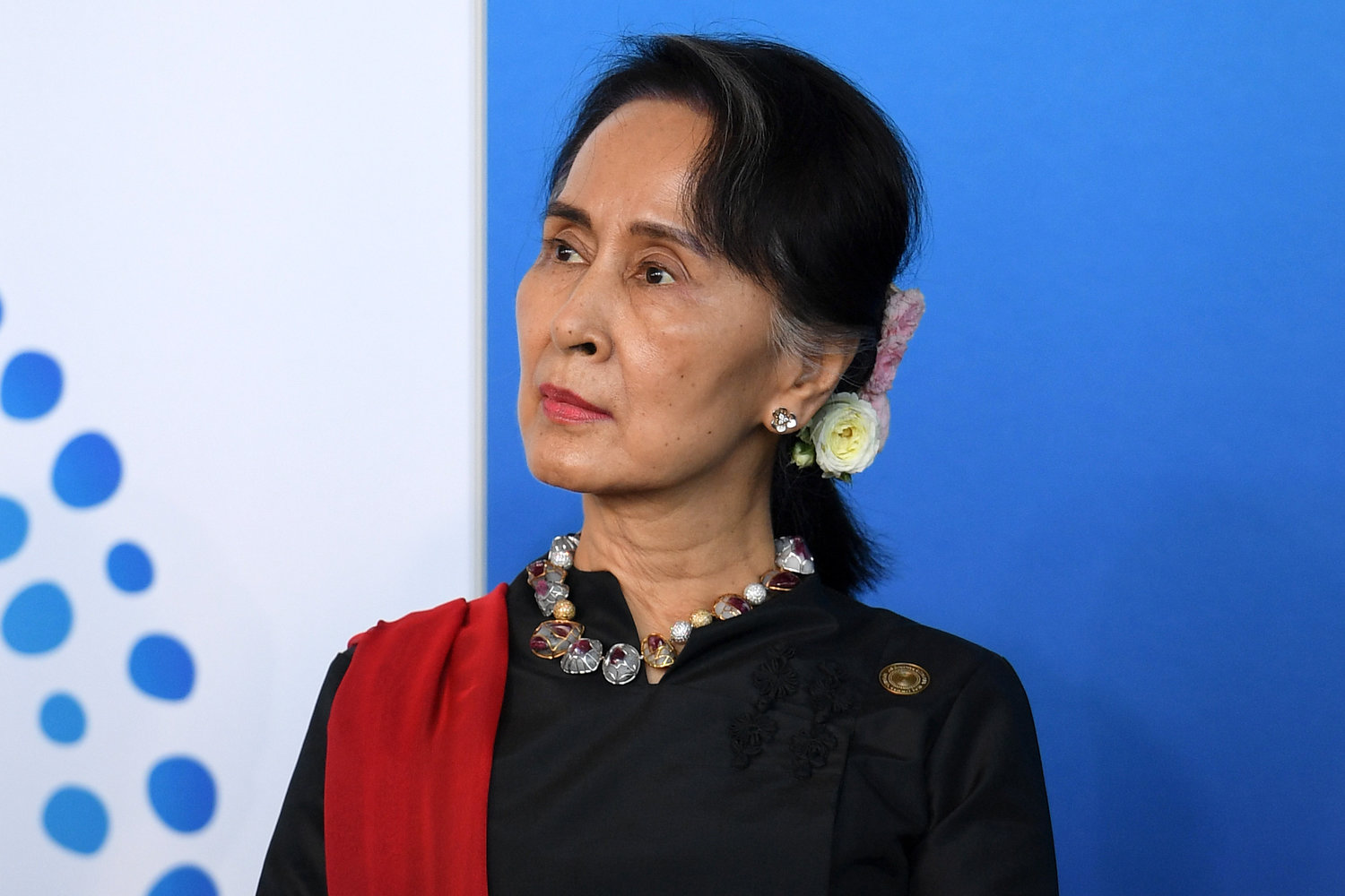 Myanmar State Counsellor Aung San Suu Kyi attends the New Colombo Plan Reception during the ASEAN-Australia Special Summit at the Association of Southeast Asian Nations, ASEAN, special summit on March 17, 2018 in Sydney, Australia.