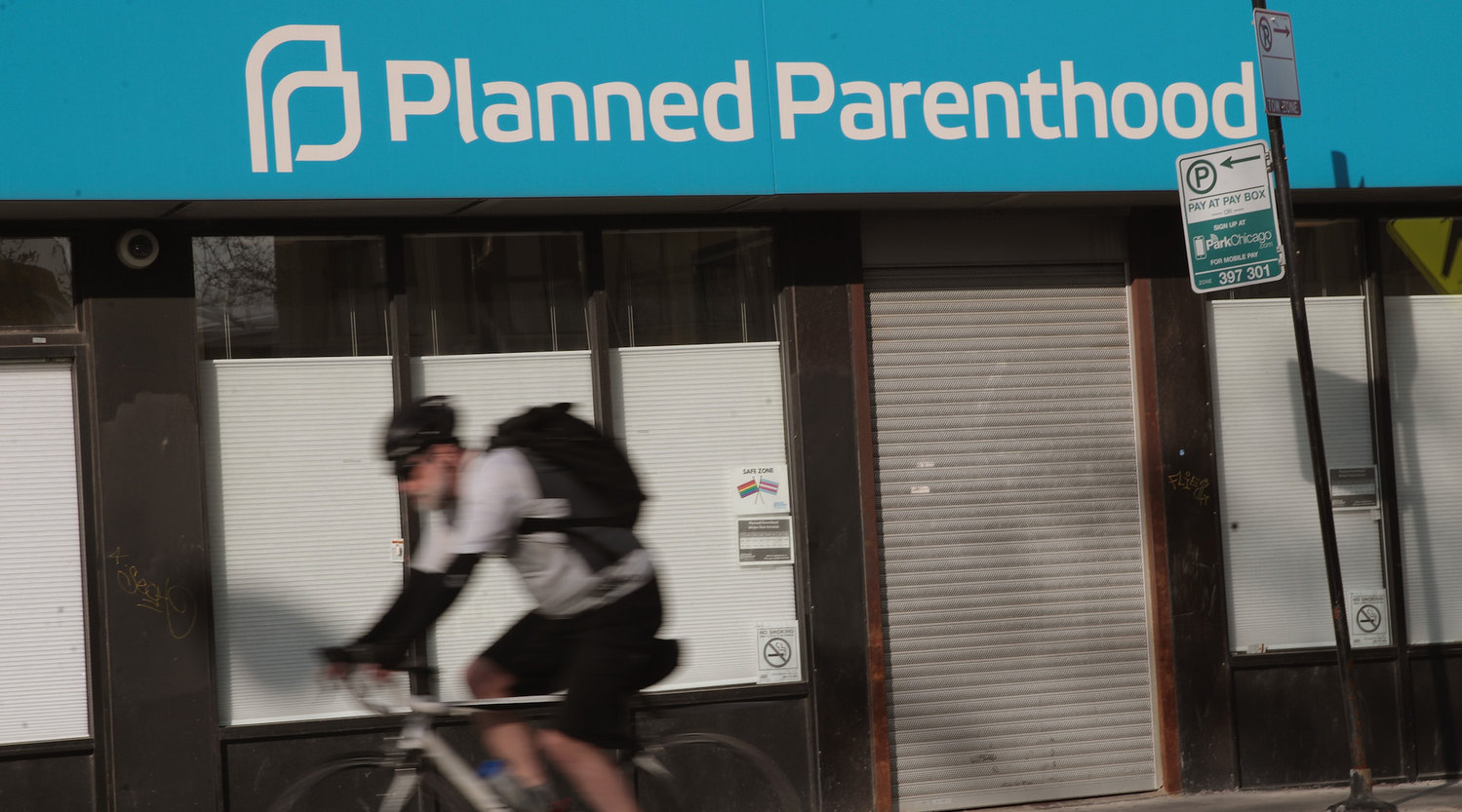 A Planned Parenthood storefront clinic in Chicago.