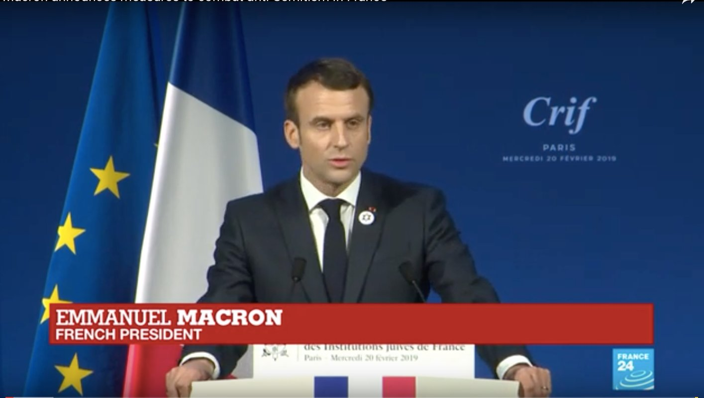 French President Emannuel Macron