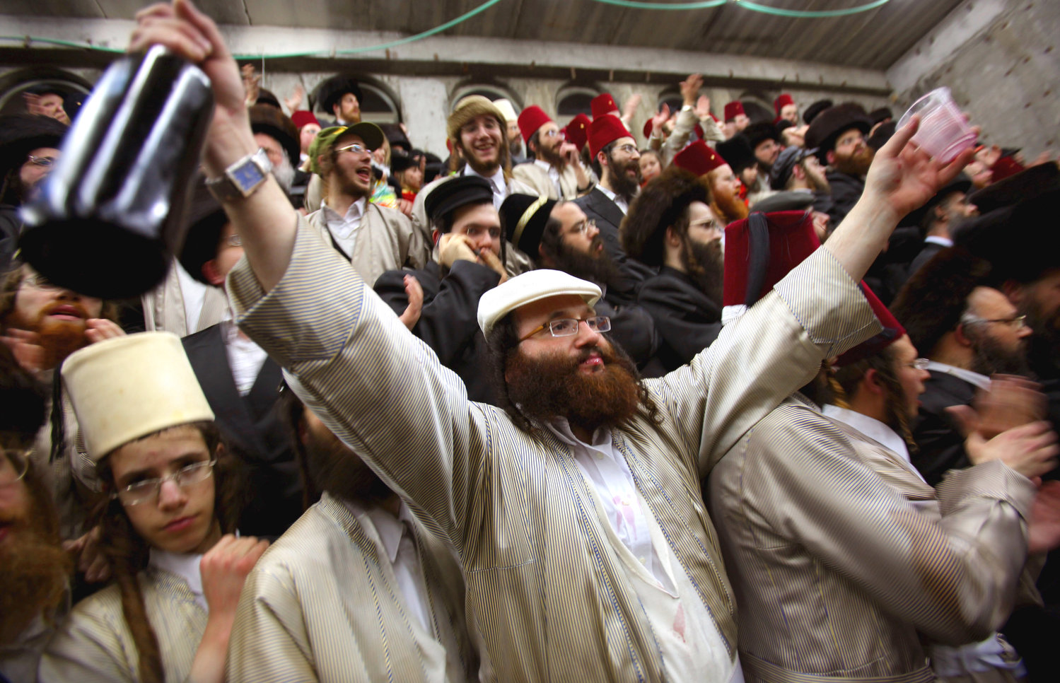 Purim celebration in Beit Shemesh.