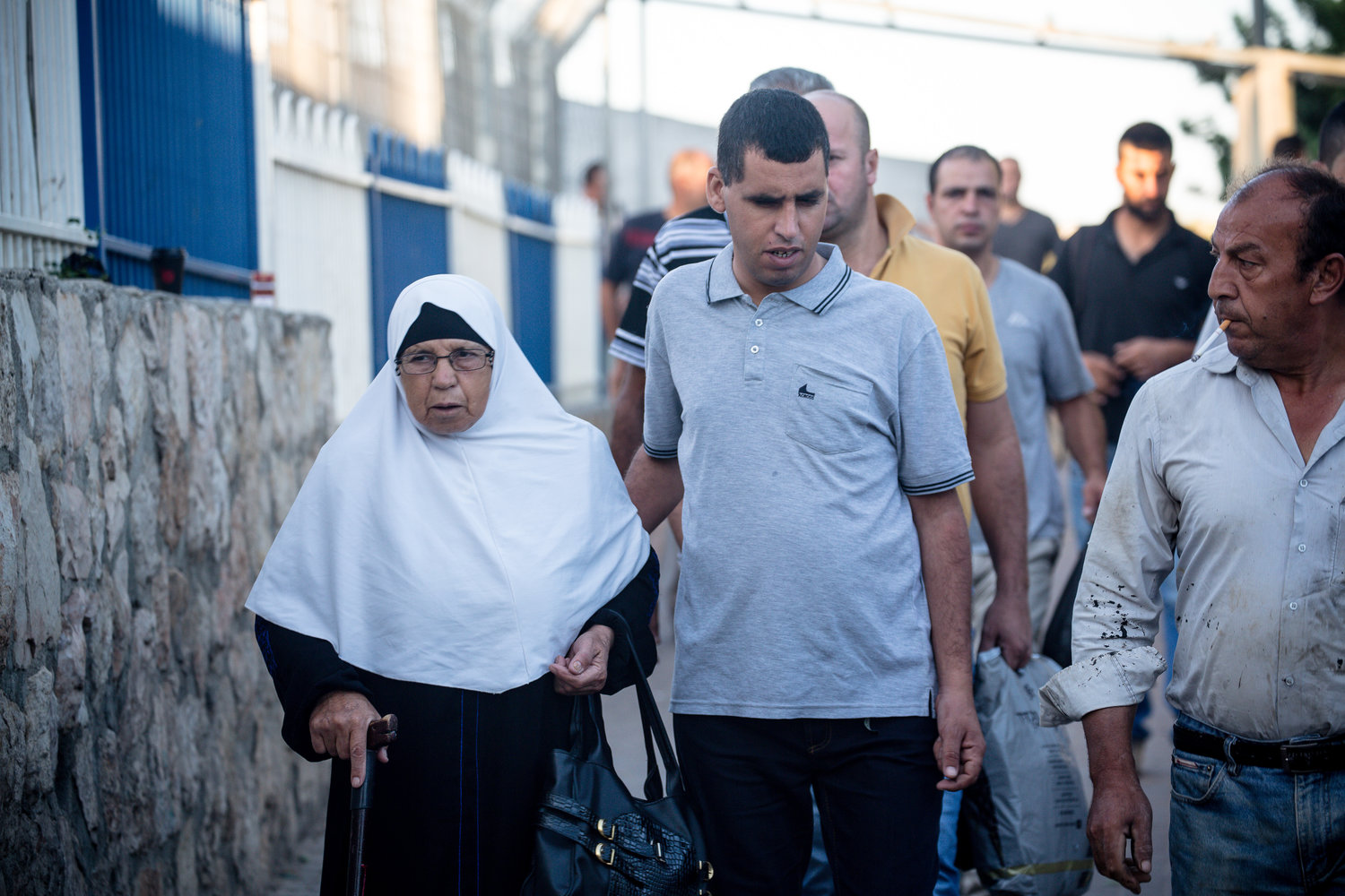 Not every Palestinian crossing into Israel is going for work. Some 15 percent cross the border for medical, educational or other purposes.