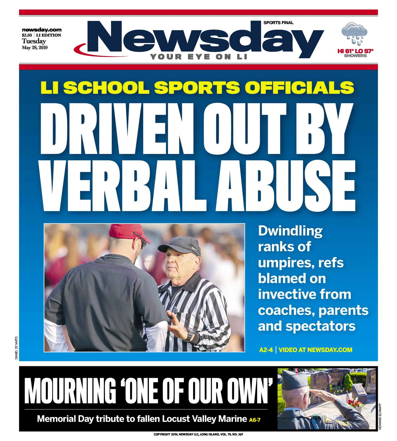 Rabbi Anchelle Perl reacted to a Newsday cover story.