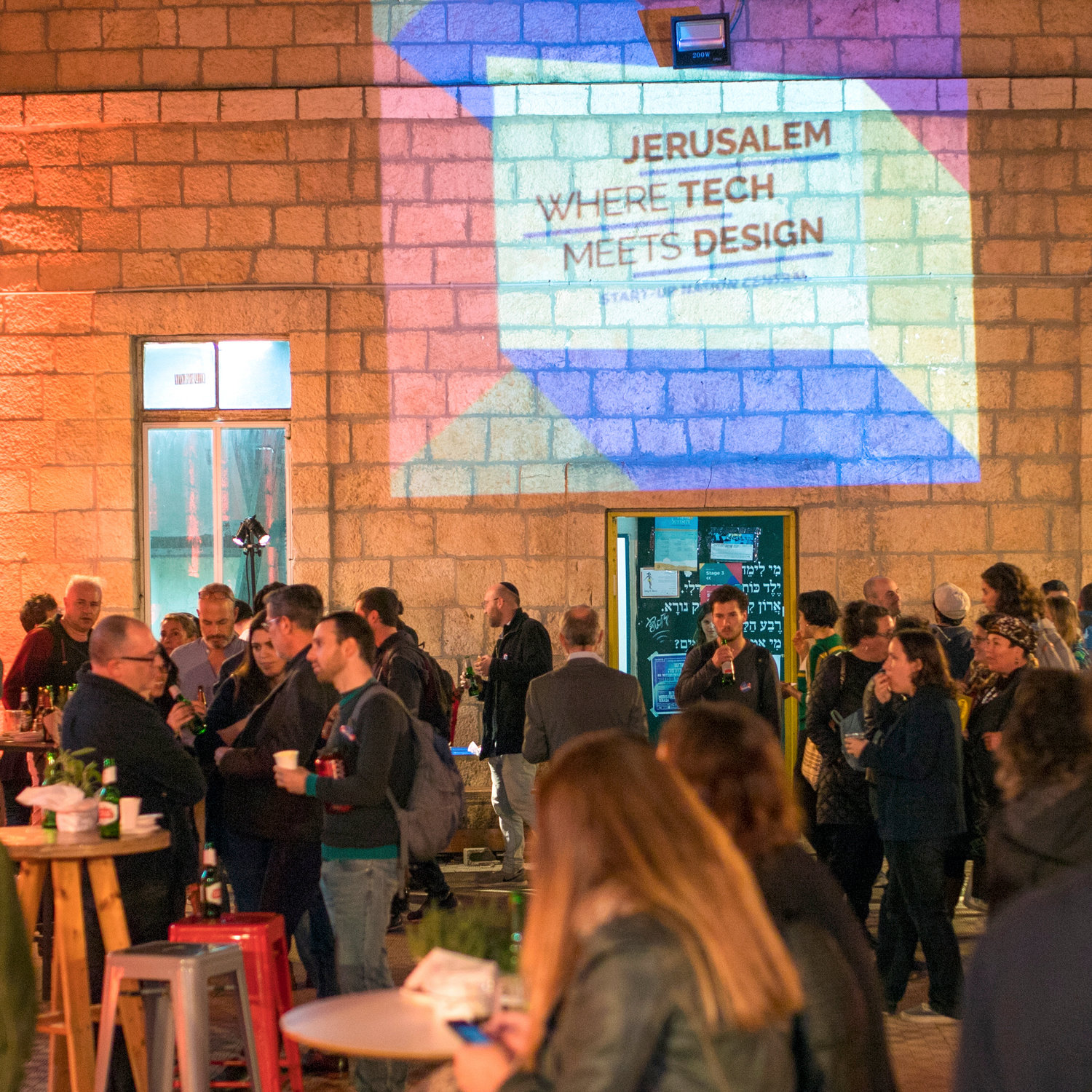 An event organized in Jerusalem by Start-Up Nation Central.